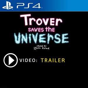 Trover Saves The Universe PS4 en boîte ou à télécharger