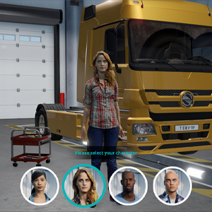Truck Driver - Personnage