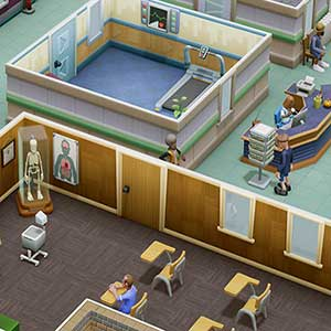 Two Point Hospital Installations de recherche