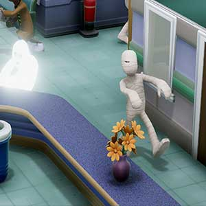 Two Point Hospital Fantômes et momies