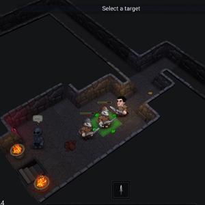 Ultimate ADOM Caverns of Chaos - Sélectionnez une cible