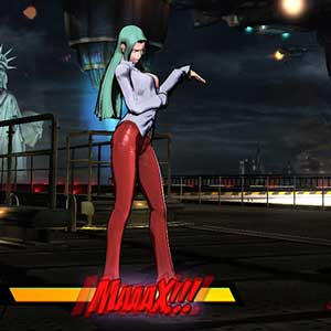 Ultimate Marvel vs Capcom 3 Morrigan vs Ironman