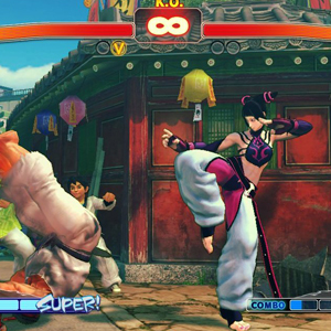 Ultra Street Fighter 4 Combat