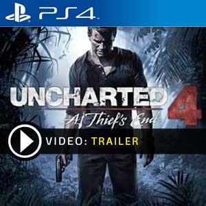Uncharted 4 A Thiefs End PS4 en boîte ou à télécharger