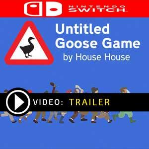 Untitled Goose Game Nintendo Switch en boîte ou à télécharger