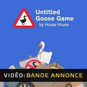 Untitled Goose Game Bande-annonce vidéo