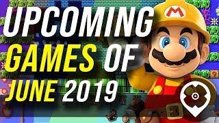 Jeux à venir en juin 2019