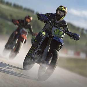 Valentino Rossi The Game Course moto cross