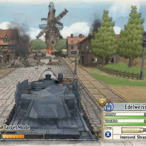Valkyria Chronicles Tank