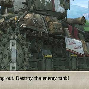 Détruire le char ennemi