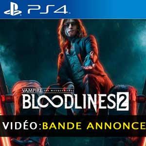 Vampire The Masquerade Bloodlines 2 Vidéo de la bande annonce