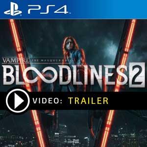 Vampire The Masquerade Bloodlines 2 PS4 en boîte ou à télécharger