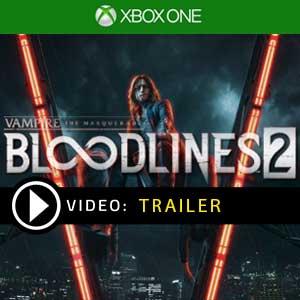 Vampire The Masquerade Bloodlines 2 Xbox One en boîte ou à télécharger