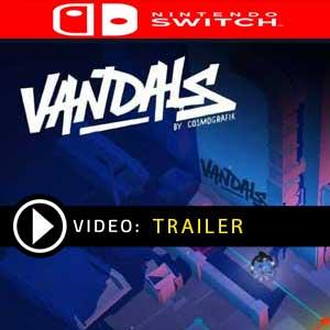 Vandals Nintendo Switch en boîte ou à télécharger