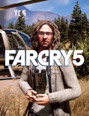 Regardez une vidéo du gameplay de Far Cry 5 avec Larry Parker