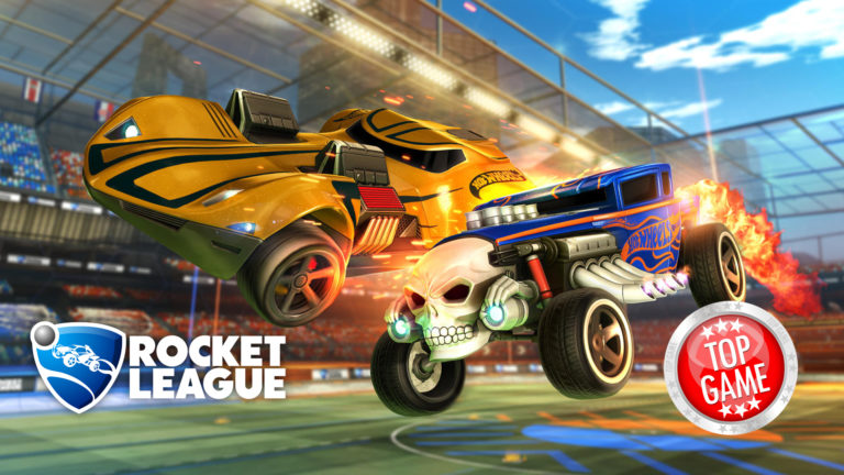 deux voitures hot wheels d barquent dans rocket league comparateur de prix de. Black Bedroom Furniture Sets. Home Design Ideas