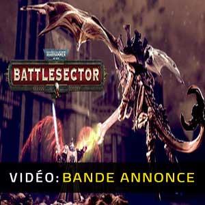 Warhammer 40K Battlesector Bande-annonce Vidéo