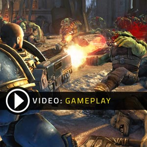 Warhammer 40 000 Space Marine Gameplay Video