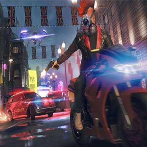 Watch Dogs Legion Poursuite en voiture