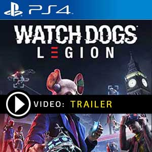 Watch Dogs Legion PS4 en boîte ou à télécharger