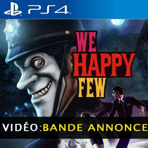 Acheter We Happy Few PS4 Code Comparateur Prix