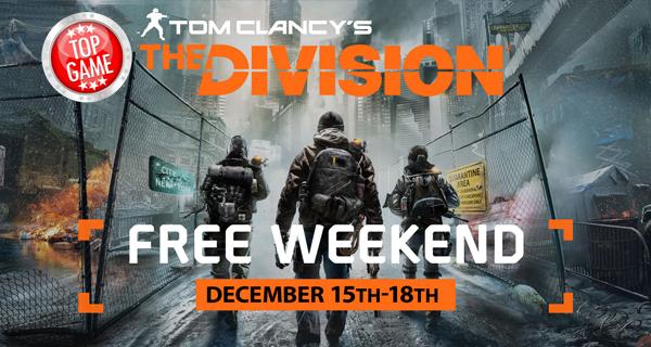 The Division gratuit pour le week-end