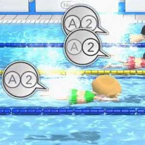 Wii Party U Nintendo Wii U La natation
