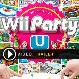 Wii Party U Nintendo Wii U en boîte ou à télécharger