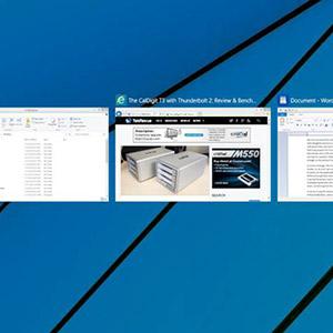 Windows 10 multitâche