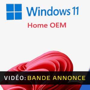 Windows 11 Home OEM Bande-annonce Vidéo