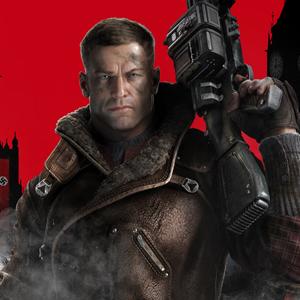 Wolfenstein The New Order PS4 William BJ Blazkowicz
