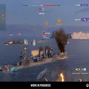 large-scale ship battles