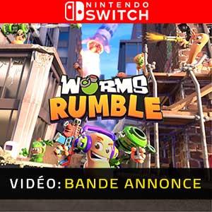 Worms Rumble Nintendo Switch Bande-annonce vidéo