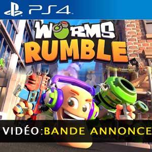 Worms Rumble PS4 Bande-annonce vidéo