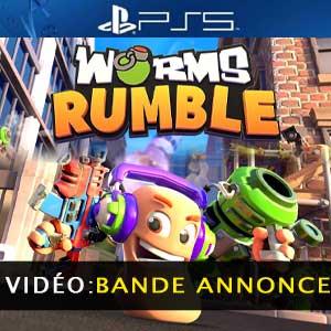 Worms Rumble PS5 Bande-annonce vidéo