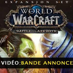 WoW Battle for Azeroth Expansion vidéo de la bande-annonce