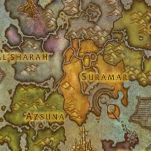 La carte des îles Broken