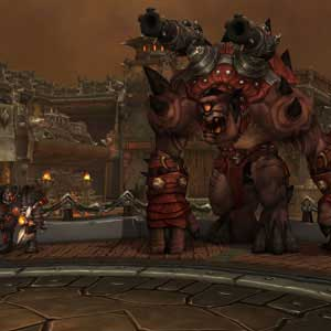 WoW Warlords of Draenor Screenshot Iron Docks