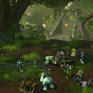 WoW Warlords of Draenor Screenshot Jungle de Tanaan