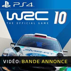 WRC 10 FIA World Rally Championship PS4 Bande-annonce Vidéo