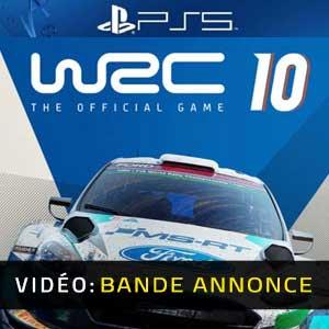 WRC 10 FIA World Rally Championship PS5 Bande-annonce Vidéo
