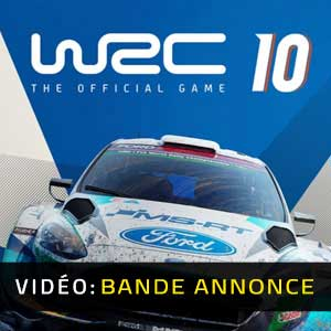 WRC 10 FIA World Rally Championship Bande-annonce Vidéo