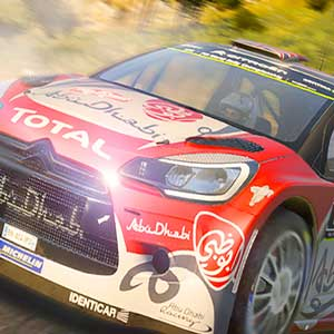 WRC 6 Abu Dhabi Race Car