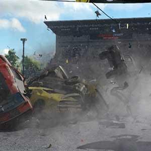 Wreckfest Les voitures s entassent