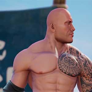 Les champs de bataille de la WWE 2K The Rock