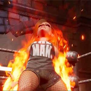 Les champs de bataille de la WWE 2K Becky Lynch