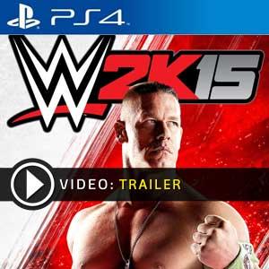WWE 2K15 PS4 en boîte ou à télécharger