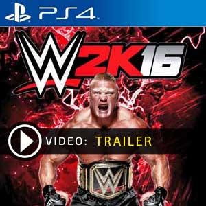WWE 2K16 PS4 en boîte ou à télécharger