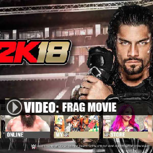 WWE 2K18 film frag