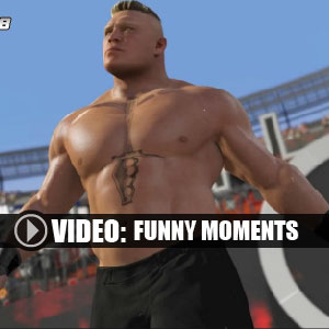 WWE 2K18 Moments marrants